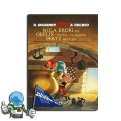Asterix. Nola erori zen Obelix txikitan druidaren pertz barrura.