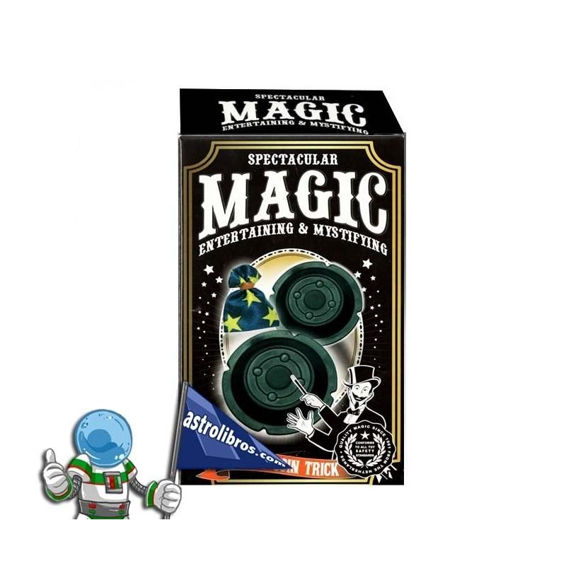 Truco de la moneda. Trucos de magia para niños.