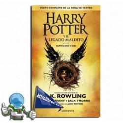 HARRY POTTER Y EL LEGADO MALDITO (PARTES I y II)