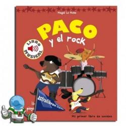 PACO Y EL ROCK. Musika-liburua