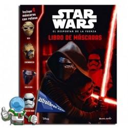 Libro de máscaras. Star Wars. El despertar de la fuerza.