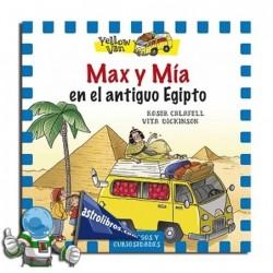 MAX Y MÍA EN EL ANTIGUO EGIPTO , YELOW VAN 6