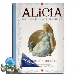 Libro carrusel. Alicia en el país de la maravillas.