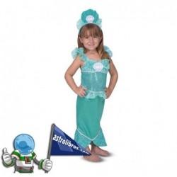 Disfraz de Sirena. Sirenatxoa