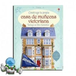 LIBRO CONSTRUYE TU CASA DE MUÑECAS VICTORIANA