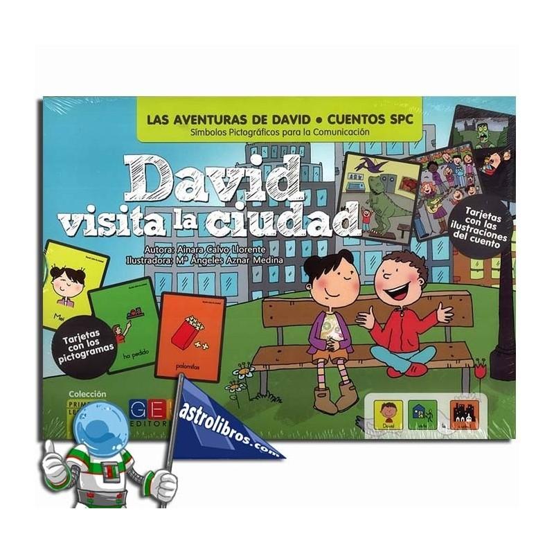 DAVID VISITA LA CIUDAD | CUENTOS SPC | PICTOGRAMAS