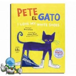 PETE EL GATO. I LOVE MY WHITE SHOES.