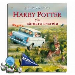 HARRY POTTER II LA CÁMARA SECRETA. ILUSTRADO