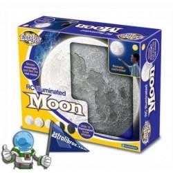 Rc Illuminated moon. Luna que se ilumuna, con mando a distancia.
