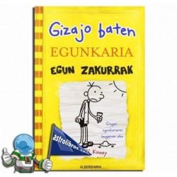 GIZAJO BATEN EGUNKARIA 4 , EGUN ZAKURRAK , GREG EN EUSKERA