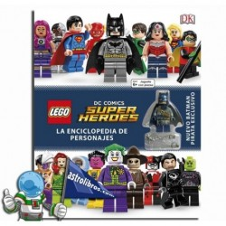 Enciclopedia de personajes. Lego DC Cómics, Superhéroes.
