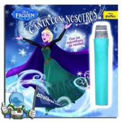 Libro con micrófono Frozen