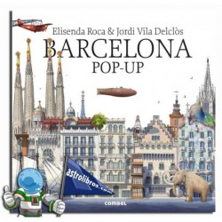 BARCELONA POP-UP , LIBRO POP-UPS EN INGLÉS