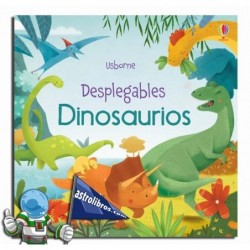 DINOSAURIOS , DESPLEGABLES , LIBRO POP-UP