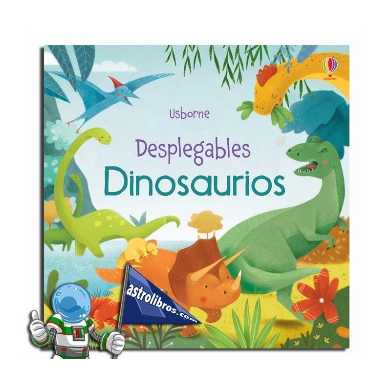 DINOSAURIOS. DESPLEGABLE POP-UP