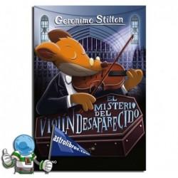 El misterio del violín desaparecido.Geronimo Stilton 64.