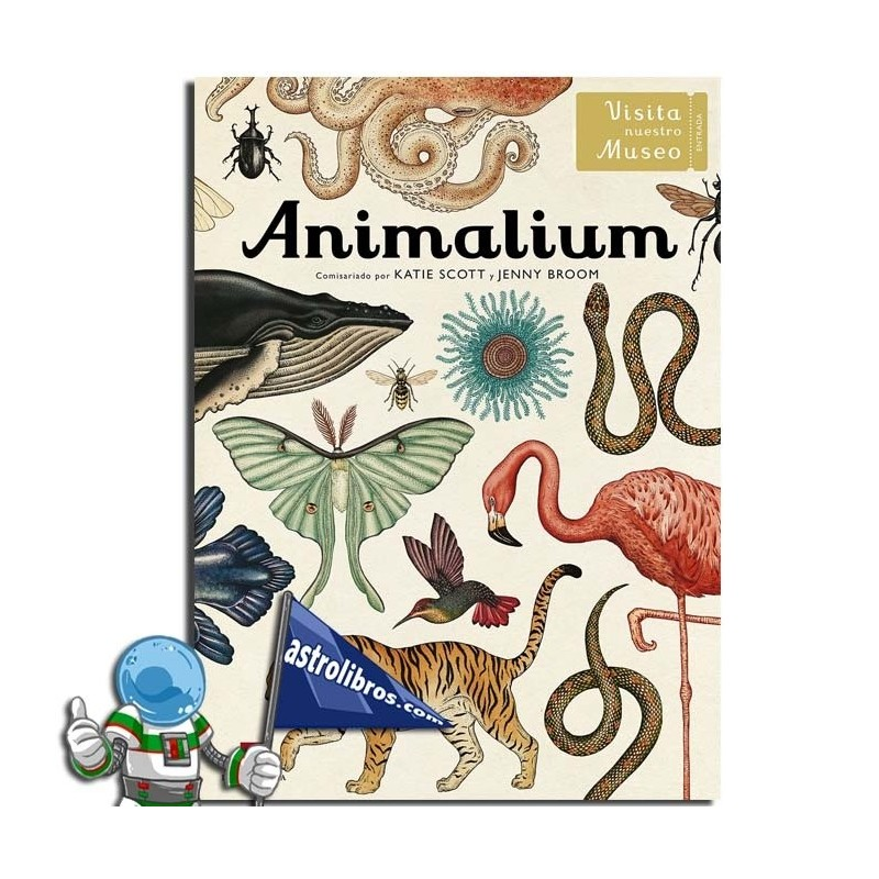 ANIMALIUM (LIBRO ILUSTRADO)