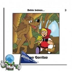 TXANO GORRITXO , BEHIN BATEAN... 3