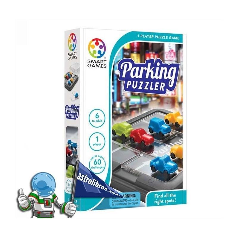 Parking puzzle. Logika joko.