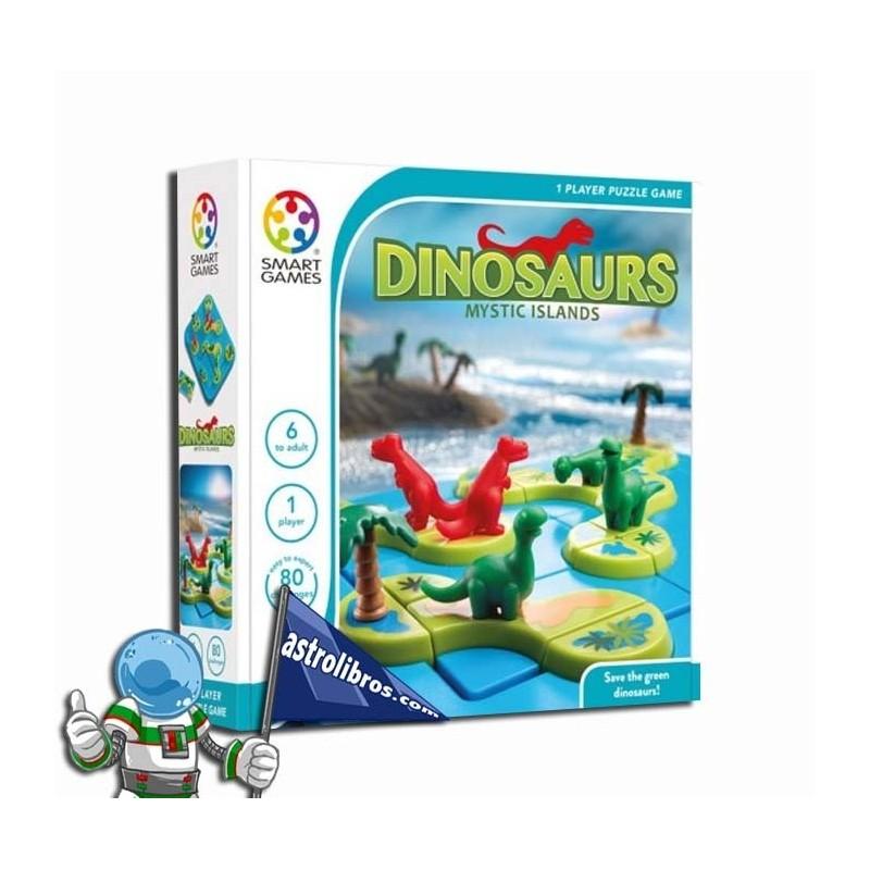 Dinosaurios. Islas misteriosas. Logika joko.