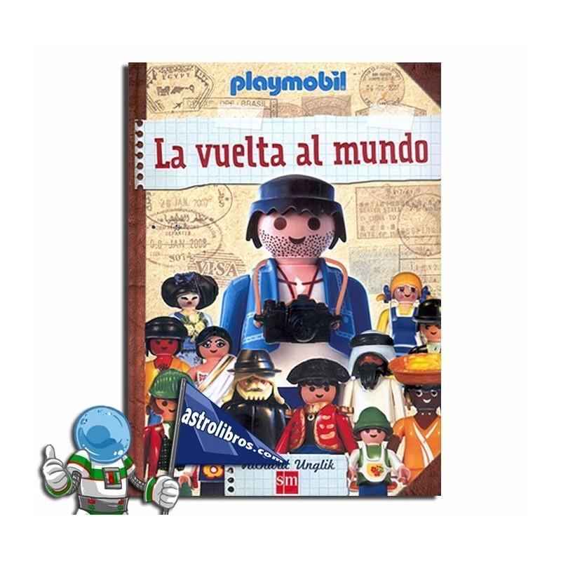 La vuelta al mundo. Libro Playmobil.