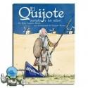 El Quijote contado  a los niños. Clásicos adaptados.