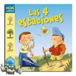 LAS 4 ESTACIONES , MINI LAROUSSE