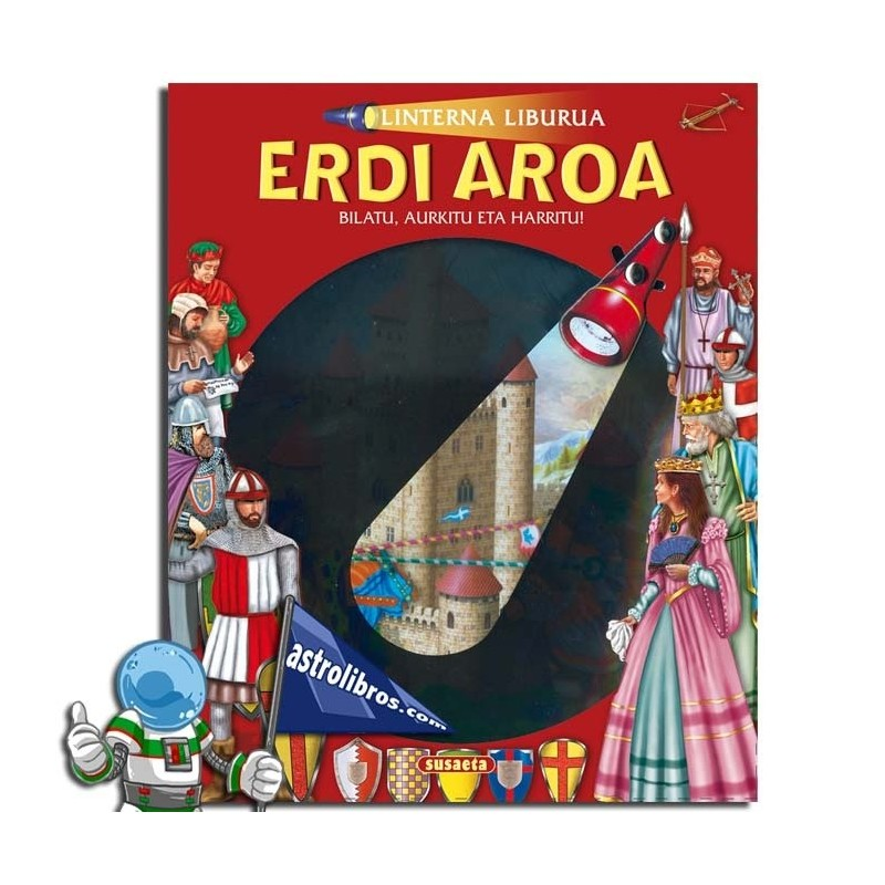 Linterna liburua. Erdia Aroa
