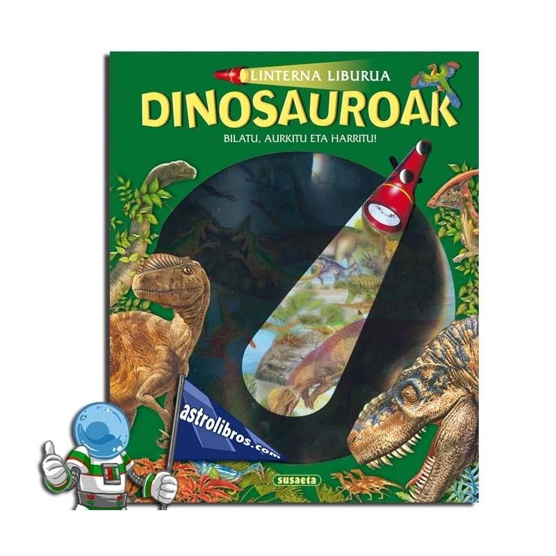 Linterna liburua. Dinosauroak