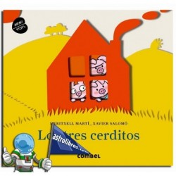 LOS TRES CERDITOS , MINIPOPS , LIBRO POP UP