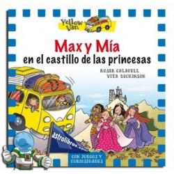 MAX Y MÍA EN EL CASTILLO DE LAS PRINCESAS , YELLOW VAN 8