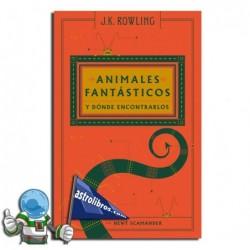 ANIMALES FANTÁSTICOS Y DÓNDE ENCONTRALOS , BIBLIOTECA HOGWARTS , SAGA HARRY POTTER