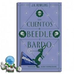 LOS CUENTOS DE BEEDLE EL BARDO , BIBLIOTECA HOGWARTS , SAGA HARRY POTTER