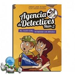 AGENCIA DE DETECTIVES NÚM. 2 LIBRO 2 , EL CASO DEL HOMBRE DE NEGRO