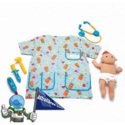 Disfraz de Pediatra infantil (Mozorroak)