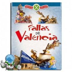 FALLAS DE VALENCIA, MAQUETA RECORTABLE