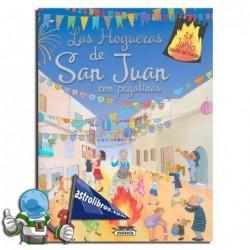 LAS HOGUERAS DE SAN JUAN. CON PEGATINAS
