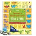 APRENDE A DIBUJAR DINOSAURIOS PASO A PASO