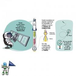 ASTRONÁUTICA , FUTUROS GENIOS , LA CIENCIA EXPLICADA A LOS MÁS PEQUEÑOS