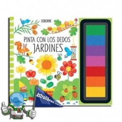 JARDINES | PINTA CON LOS DEDOS