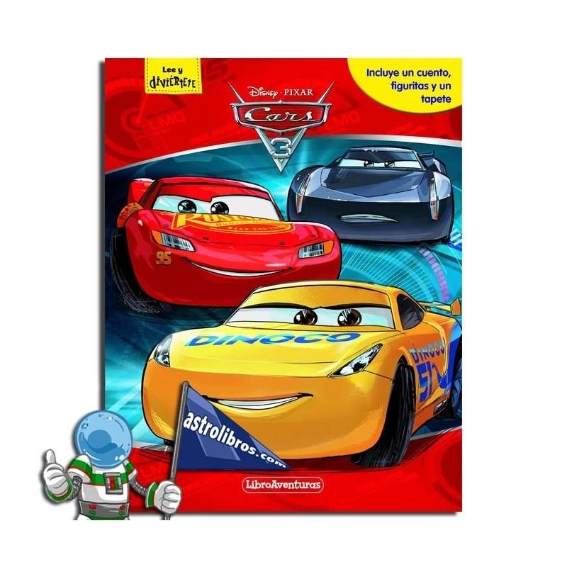 MI LIBRO-JUEGO. CARS 3. LIBROAVENTURAS