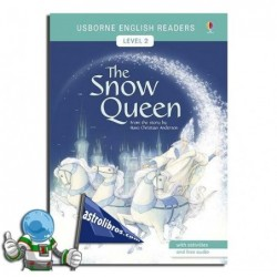 THE SNOW QUEEN , USBORNE ENGLISH READERS , LEVEL 2 -A2-