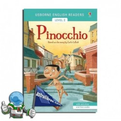 PINOCCHIO , USBORNE ENGLISH READERS , LEVEL 2 -A2-