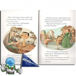 PINOCCHIO. USBORNE ENGLISH READERS. LEVEL 2 -A2-