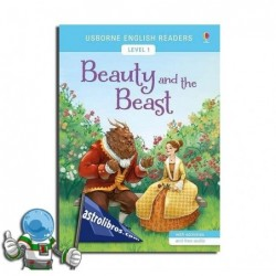 BEAUTY AND THE BEAST , USBORNE ENGLISH READERS , LEVEL 1 -A1-