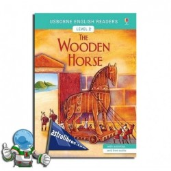 THE WOODEN HORSE , USBORNE ENGLISH READERS , LEVEL 2 -A2-