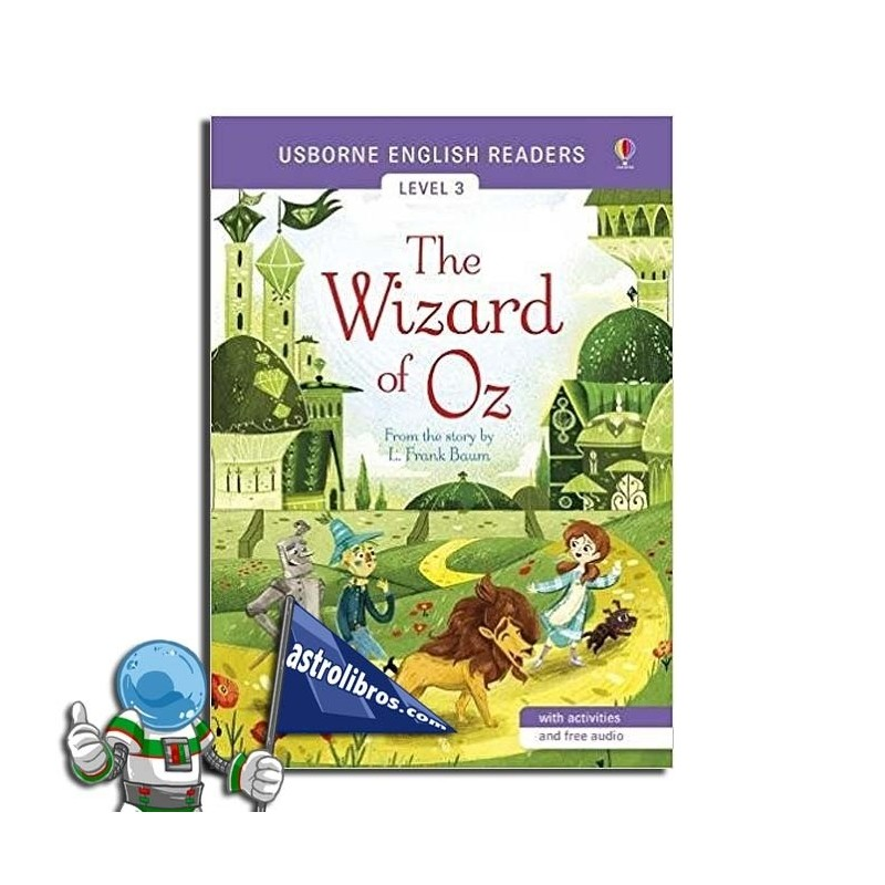 THE WIZARD OF OZ. USBORNE ENGLISH READERS. LEVEL 3 -B1-