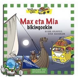 Max eta Mía bikingoekin. Yellow van 9