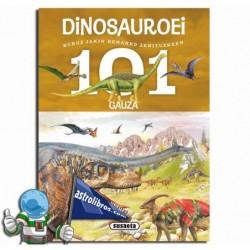 101 gauza buruz jakin beharko zenituzkeen dinosauroei
