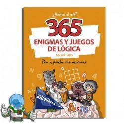 365 enigmas y juegos de lógica ¿Aceptas el reto?